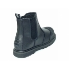 Grafters DEFENDER Mens Steel Toe Safety Chelsea Boots Black