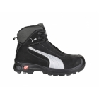 Puma Safety CASCADE MID 630210 Mens Leather Safety Boots Black