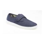 Gordini ELIOT Mens Padded Casual Velcro Shoes Blue Denim
