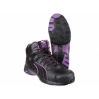 Puma Safety STEPPER MID Ladies Leather Safety Boots Black