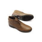 Catesby Shoemakers ELWOOD Mens Leather Derby Lace-Up Boots Tan
