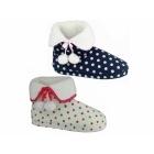 Divaz COPENHAGEN Ladies Bootie Slippers Cream