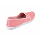 Divaz GARLAND Ladies Slip-On Canvas Plimsolls Pink