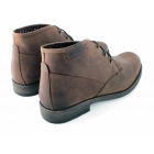 Catesby Shoemakers ELWOOD Mens Leather Derby Lace-Up Boots Chestnut