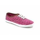 Divaz WINSLET Ladies Canvas Trainers Pink