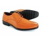 Shoe Avenue CALLUM Mens Lace-Up Shoes Tan