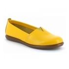 Aerosoles CATALAN Ladies Leather Casual Espadrilles Yellow