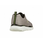 Skechers EQUALIZER QUICK REACTION Mens Lace Up Walking Trainers Light Grey/Black