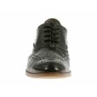 Hush Puppies ELLODIE ELLIS Ladies Wide Fit Oxford Brogue Shoes Black