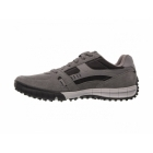 Skechers FLOATER Mens Relaxed Fit Casual Trainers Charcoal/Black