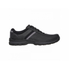 Skechers BRAVER ALFANO Mens Oxford Lace Up Shoes Black