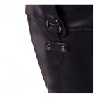 Padders CHICAGO Ladies Zip Extra Wide (EE) Knee High Boots Black