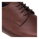 Padders JAKE Mens Leather Lace-Up Wide (G) Casual Shoes Tan