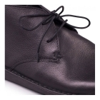 Padders JUDD Mens Leather Lace-Up Wide (G) Casual Boots Black