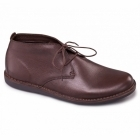 Padders JUDD Mens Leather Lace-Up Wide (G) Casual Boots Brown