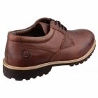 Cotswold TUFFLEY Mens Leather Lace Up Shoes Brown