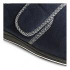 Padders HARRY Mens Microsuede Velcro Wide Fit Full Slippers Navy