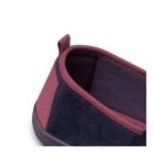 Padders BLAKE Mens Microsuede Wide Fitting Full Slippers Navy