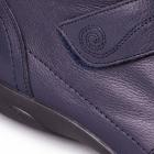 Padders JIVE Ladies Leather Velcro Super Wide EEE/EEEE Boots Navy