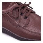 Padders REBEL Mens Leather Lace-Up Shoes Brown