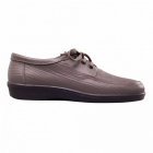 Padders REBEL Mens Leather Lace-Up Shoes Pewter Grey