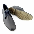 Rieker F1310-27 Mens Leather Warm Lace-Up Desert Boots Brown
