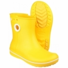 Crocs CROCBAND JAUNT SHORTY Ladies Short Wellington Boots Yellow