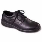 Padders LUNAR Mens Lace-Up Wide Extra Wide Shoes Black