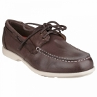 Rockport SUMMER SEA 2 EYE Mens Boat Shoes Dark Brown