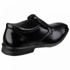 Hush Puppies THEO GRAVITY IIV Mens Leather Loafer Shoes Black
