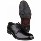 Hush Puppies VITO OXFORD PL Mens Leather Dual Fit Shoes Black