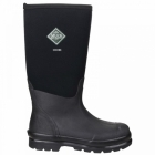Muck Boots CHORE HI Unisex Waterproof Work Wellington Boots Black