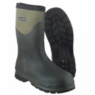 Muck Boots HUMBER SAFETY Mens WP Steel Toe Wellington Boots Moss