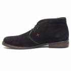 Lucini OSBORNE Mens Suede Lace Up Chukka Boots Black
