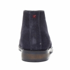 Lucini OSBORNE Mens Suede Lace Up Chukka Boots Dark Blue