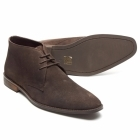 Lucini DUNN Mens Suede Lace Up Chukka Boots Brown/Coffee