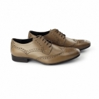 Catesby Shoemakers RICHARD Mens Leather Derby Brogues Tan