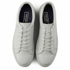 Jack & Jones GALAXY Mens Leather Reptile Trainers Bright White
