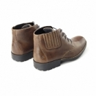Rieker 36013 Mens Leather Lace-Up Warm Chukka Boots Brown