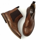 Catesby Shoemakers CLARENCE Mens Goodyear Welted Dealer Boots Brown