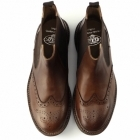 Catesby Shoemakers JORN Mens Goodyear Welted Cleated Dealer Boots Brown