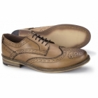 Thomas Catesby MARWOOD Mens Leather Derby Brogues Tan