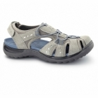 Earth Spirit TEXAS Ladies Leather Closed Sandals Light Khaki