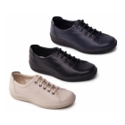 Padders GALAXY 2 Ladies Leather Wide Fit Shoes Black