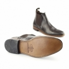 Catesby Shoemakers BELLAMY Mens Leather Welted Chelsea Boots Dark Brown
