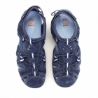 Earth Spirit TEXAS Ladies Leather Closed Sandals Blue