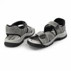 Rieker 25051-40 Mens Leather Touch Fasten Sports Sandals Grey