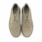 Padders JOE Mens Suede Wide Fit Desert Boots Beige