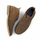 Jack & Jones GOBI Mens Suede Leather Desert Boots Bison