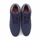 Jack & Jones VERTIGO Mens Canvas Mid-Top Trainers Navy Blazer